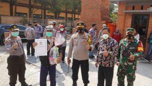 Angka Kesembuhan Covid-19 Kota Mojokerto Meningkat