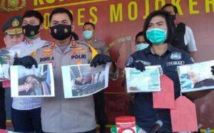 Hoby Jarah Rumah Janda Pria Di Ngoro Mojokerto Diamankan