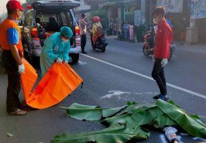 Kecelakaan, Dlanggu, emak emak, Mojokerto
