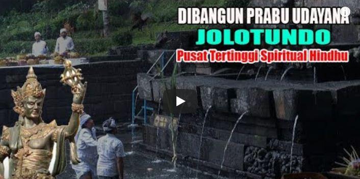 Video : Awal Mula Dibangunnya Petirtaan Jolotundo