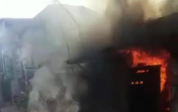 SPBU Mini di Sumenep Terbakar, Kerugian Mencapai Ratusan Juta Rupiah